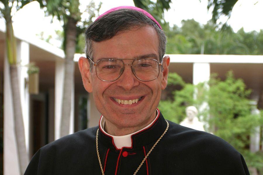 Bishop Gerald Barbarito is the shepherd of Palm Beach, Florida.