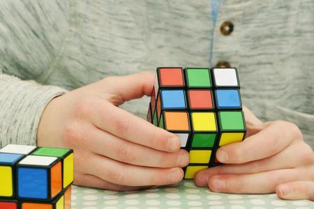 Rubiks Cube Photo by congerdesign from Pixabay