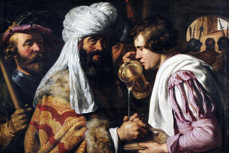 "Jan Lievens (1607-1674), ""Pilate Washing His Hands"""