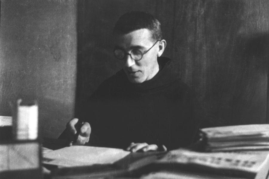 The Franciscan friar Fr. Placido Cortese (1907-1944).