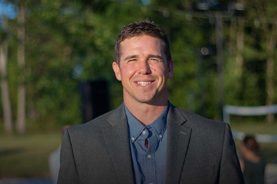 "Byron ""Tanner"" Cross, teacher with the Loudoun County School District"