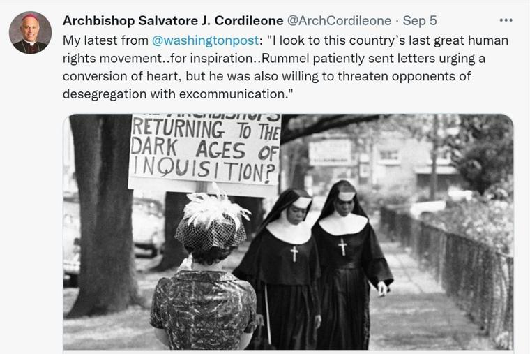 Archbishop Salvatore Cordileone wrote an op-ed titled, 'Opinion: Our duty to challenge Catholic politicians who support abortion rights' in 'The Washington Post' Sept. 5.