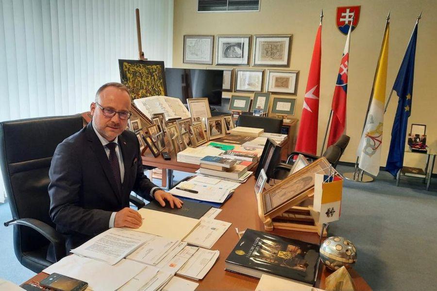 Marek Lisanský has served as Slovakia's ambassador to the Holy See since 2018.