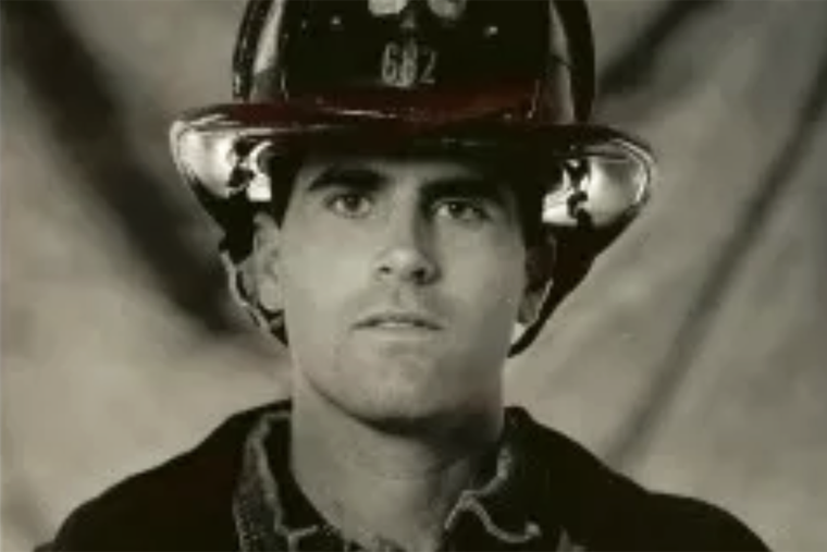 New York fireman Tom Marsich carried more than his gear to Ground Zero. He carried his faith.