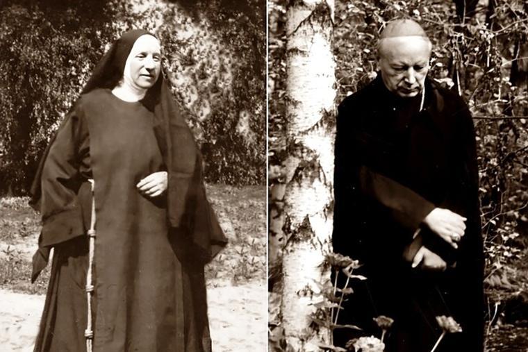 Blessed Elżbieta Róża Czacka (l) and Blessed Stefan Wyszyński were beatified together in Warsaw, Poland, on Sept. 12.