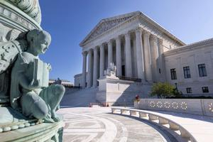 The U.S. Supreme Court is seen on September 02, 2021 in Washington, DC.
