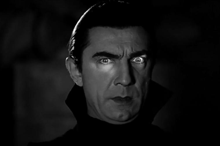 Bela Lugosi portrays the famous vampire in this screenshot from the trailer for 'Dracula' (1931)
