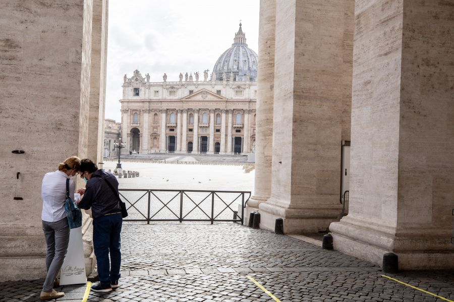 Vatican Requires Vaccine Pass for Visitors and Employees