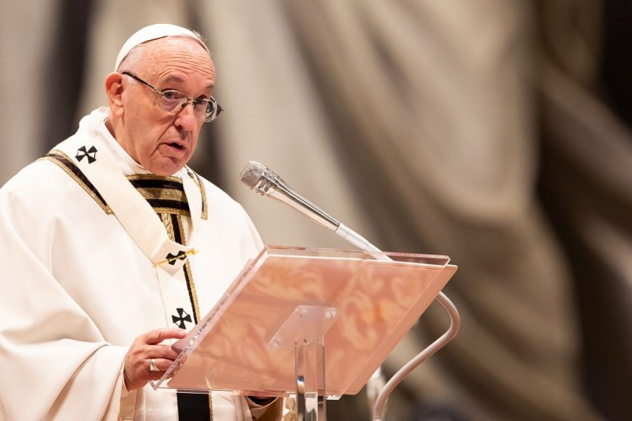Pope Francis to Bishops: The Saints Spread the Gospel, Not a 'Social Program'
