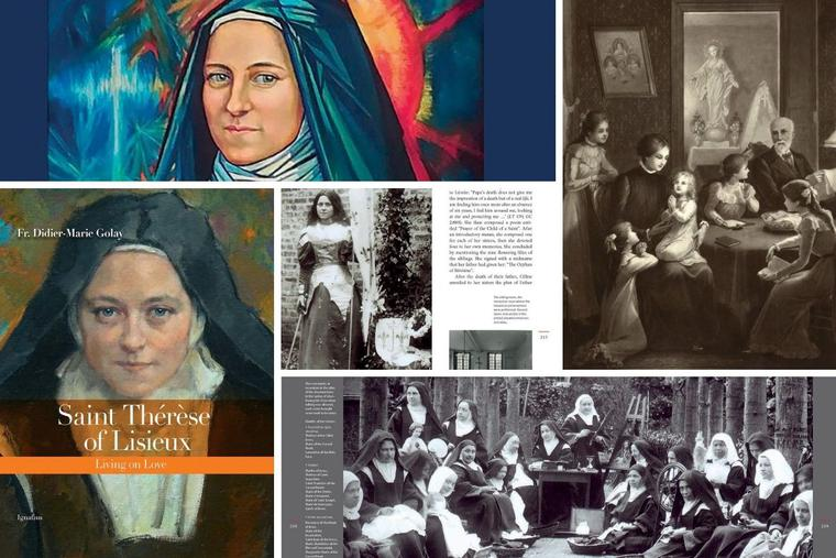 'Saint Thérèse of Lisieux: Living on Love' includes artwork and portraits of the beloved saint.