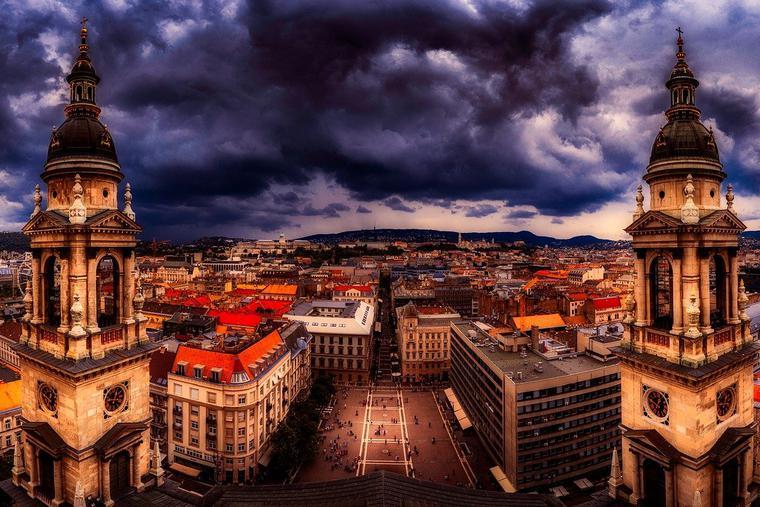 St. Stephen's Basilica in Budapest Hungary Photo