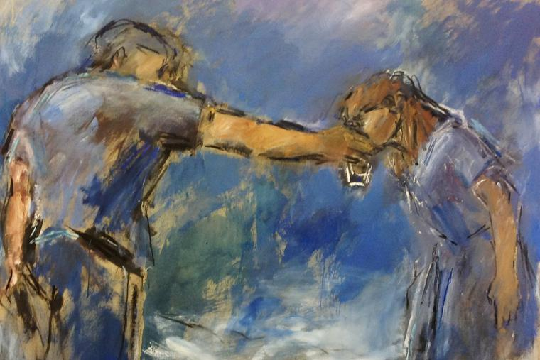 """Ghislaine Howard, """"Give Drink to the Thirsty"""""""
