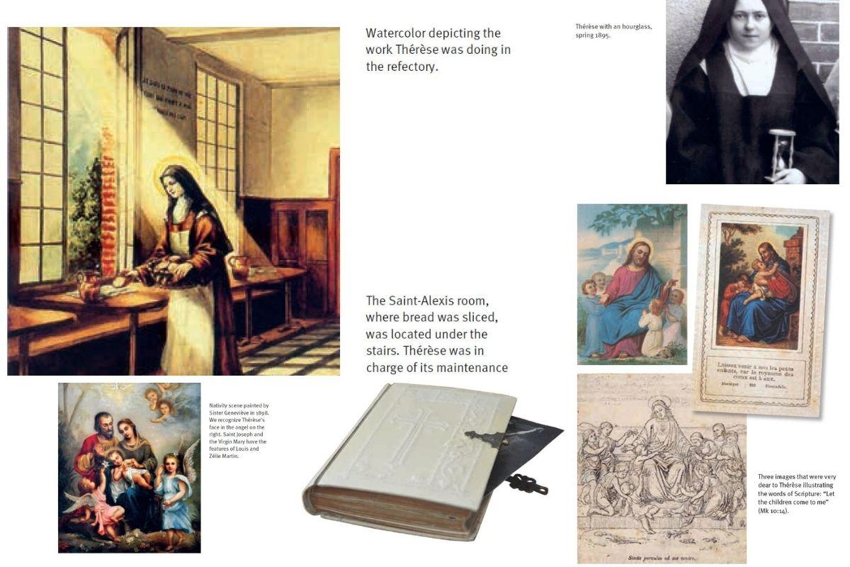St. Therese images Ignatius Press