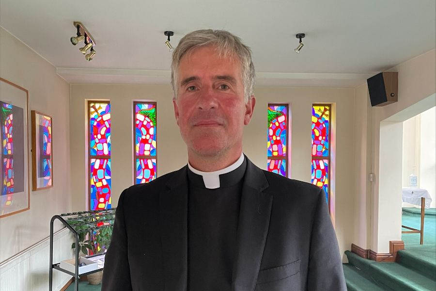 Father David Palmer, a priest of the Personal Ordinariate of Our Lady of Walsingham serving in the Diocese of Nottingham, England.
