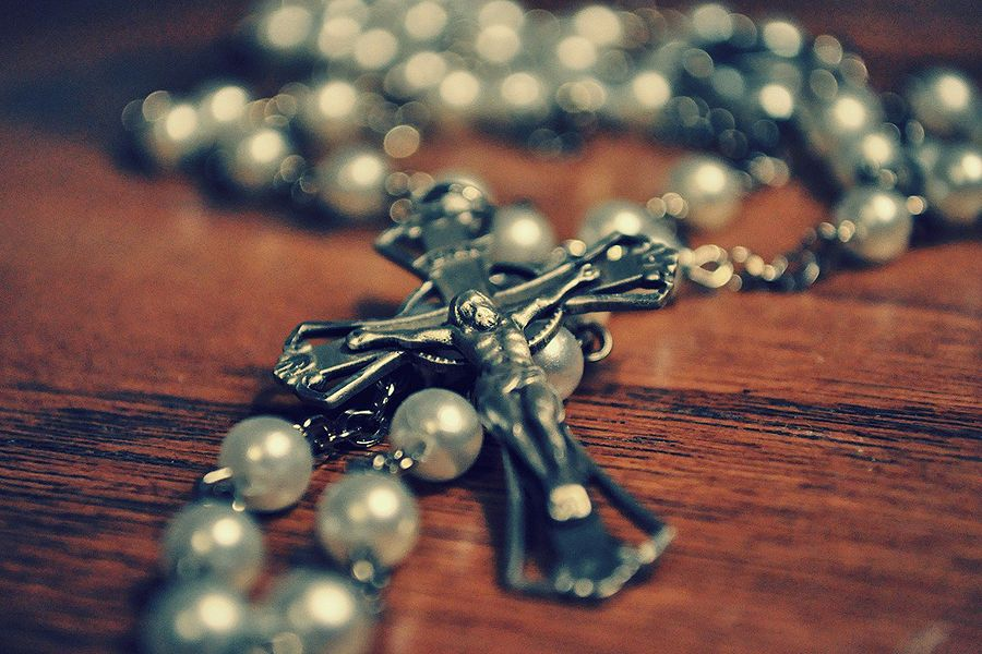 The month of October is dedicated to the Rosary.