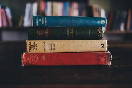 Books by J.R.R. Tolkien photo by Annie Spratt from Pixabay