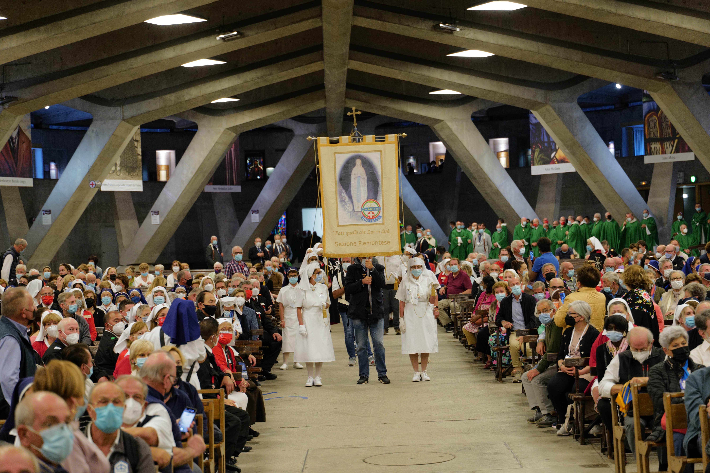 2021 Order of Malta Western Association Lourdes Pilgrims Credit: Order of Malta Western Association
