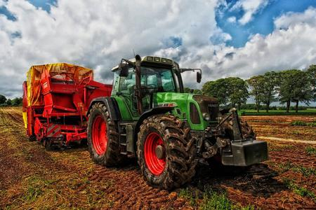 Tractor on the Farm Photo by David Mark from Pixabay