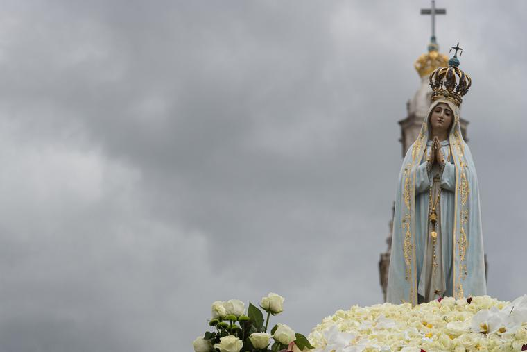 Procession of Our Lady of Fatima.