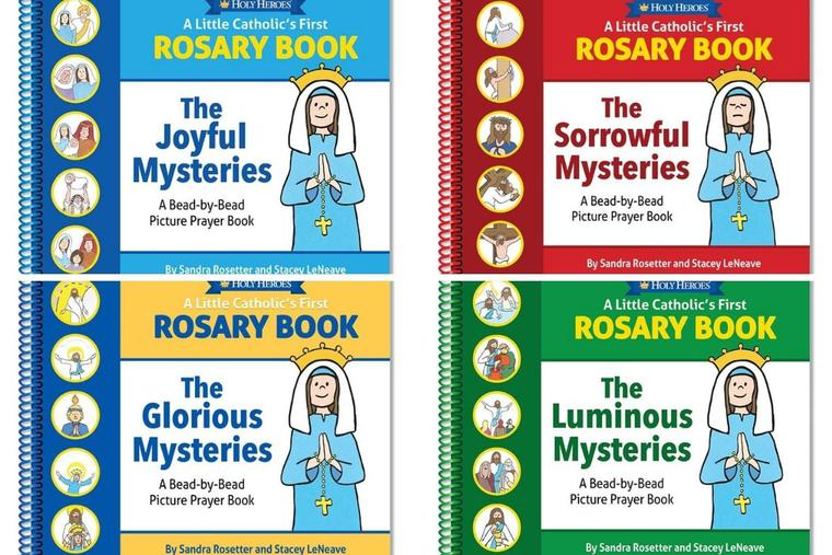 'A Little Catholic's First Rosary Book' series is popular with little readers.