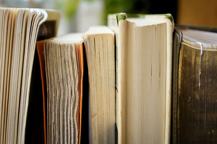 The school board's review of library books was conducted by school board members and Native advisors