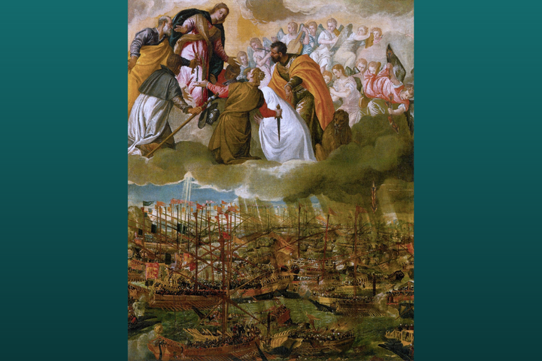 'The Battle of Lepanto' by Paolo Veronese