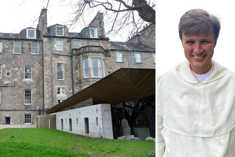 Dominican Father Samuel Burke serves as a college chaplain at the University of Edinburgh Catholic Chaplaincy in Scotland.