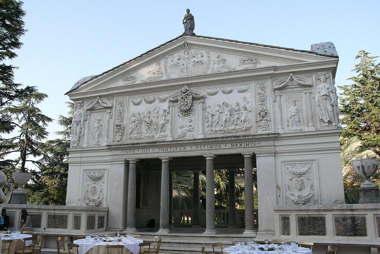 The home of the Pontifical Academy of Sciences and Social Sciences