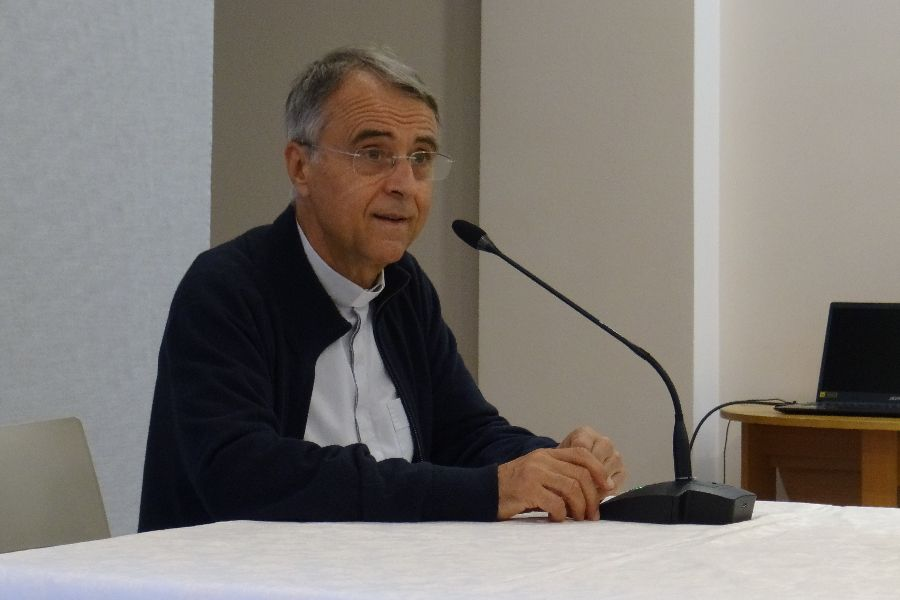 Monsignor Philippe Bordeyne, president of the John Paul II Pontifical Theological Institute for Marriage and Family Sciences in Rome.
