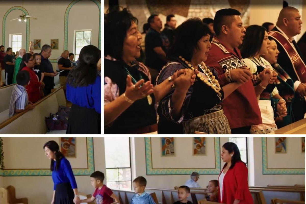 Los pueblos indígenas son católicos comprometidos.