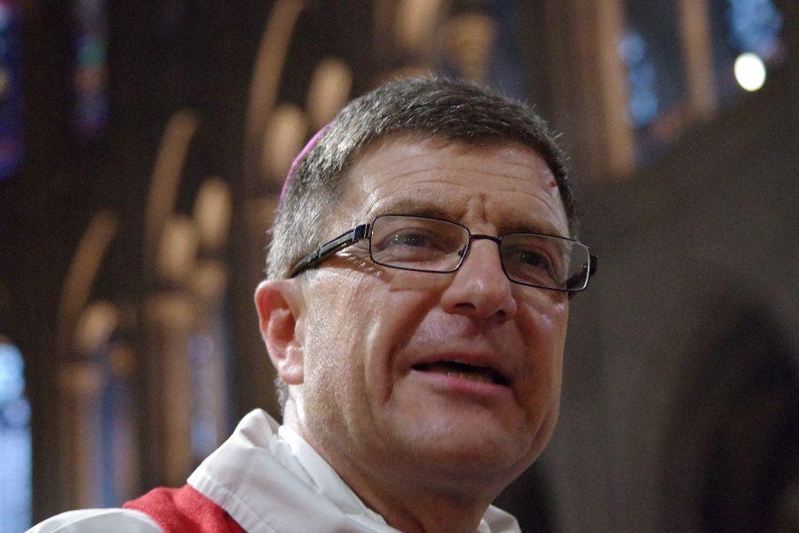 Archbishop Éric de Moulins-Beaufort, pictured in 2015.