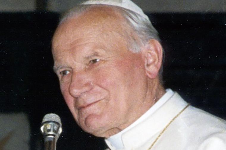 Pope St. John Paul II in 1991