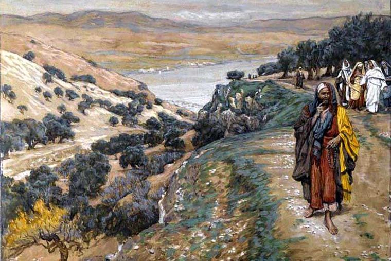 """James Tissot (1836-1902), """"The Rich Young Man Went Away Sorrowful"""""""