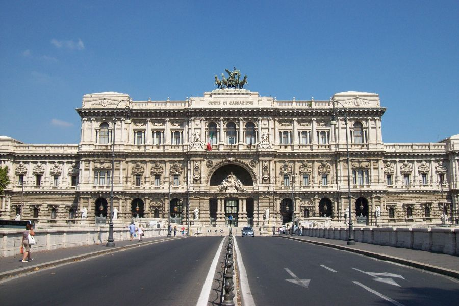 The Supreme Court of Cassation in Rome, Italy.