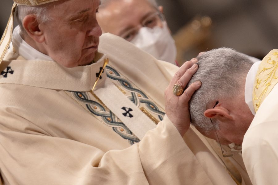 Pope Francis Ordains Monsignor Guido Marini a Bishop in St. Peter's Basilica