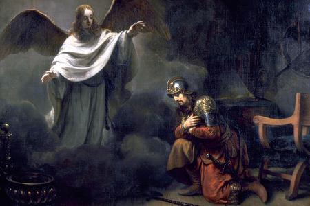 """Gerbrand van den Eeckhout, """"The Vision of Cornelius the Centurion,"""" 1664"""