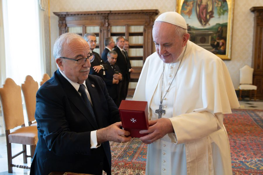 Order of Malta Thanks Pope Francis for Choosing to 'Accelerate the Process of Reform'