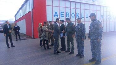 aerodrom Kapino polje, Predrag Bošković, Veselin Grbović