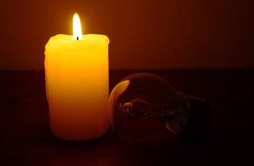 struja, šterika, svijeća