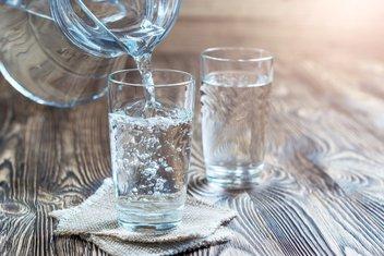 voda, čaša vode