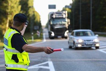 Saobraćajna policija, saobraćajac
