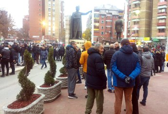 Kosovska Mitrovica, protest