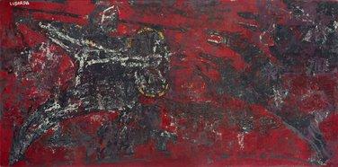 Čovjek i zvijeri, Petar Lubarda