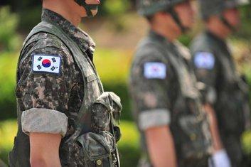 Južna Koreja, vojska