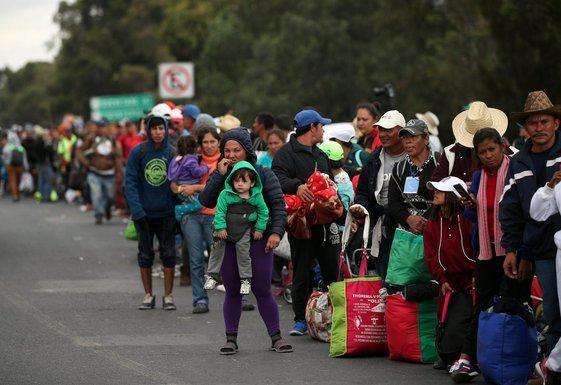 Migranti, Meksiko
