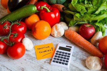 kalorije, povrće