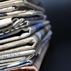 Novine, mediji, vremeplov