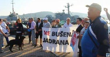 Protest protiv istraživanja nafte i gasa