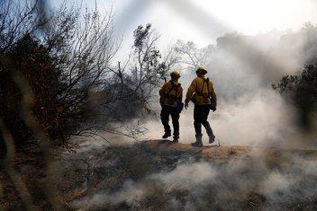 Kalifornija, vatrogasci