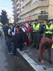 Radnici France, protest Budva